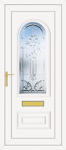 Truman One Tiffany (Clear Bevel) UPVC Front Door