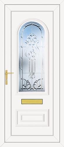 Truman One Tiffany (Clear Bevel) UPVC Front Door