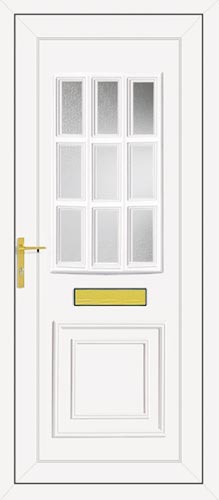 Tyler Glazed UPVC Front Door
