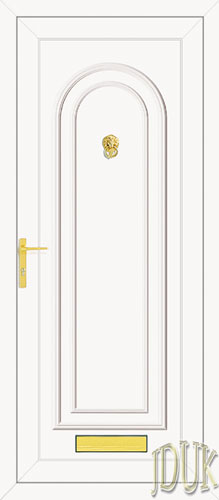 Washington Solid UPVC Front Door
