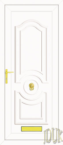 Buckingham Solid UPVC Front Door