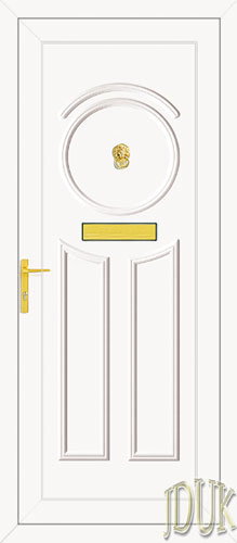 Minova Solid UPVC Front Door