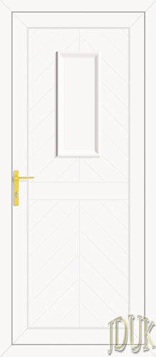 Monroe One Solid UPVC Back Door