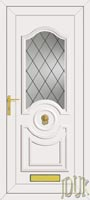 Buckingham One Diamond Lead UPVC Front Door