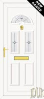 Carter Three Aspiration (Resin Sandblast) UPVC Front Door