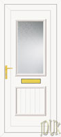 Chester One Glazed UPVC Front Door