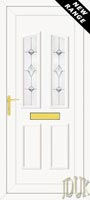 Clinton Two Aspiration (Resin Sandblast) UPVC Front Door