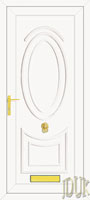 Jefferson Solid UPVC Front Door
