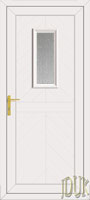Monroe One Glazed UPVC Cottage Door