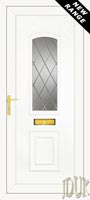 R400 Diamond Lead UPVC Front Door