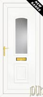 R400 Glazed UPVC Front Door