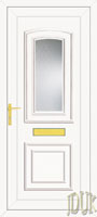 Reagan One Glazed UPVC Front Door