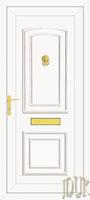 Reagan Solid UPVC Front Door