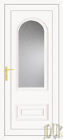 Truman One Glazed UPVC Cottage Door