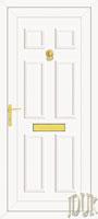 Wilson Solid UPVC Front Door