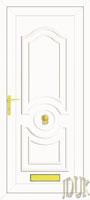 Buckingham Solid UPVC Front Door