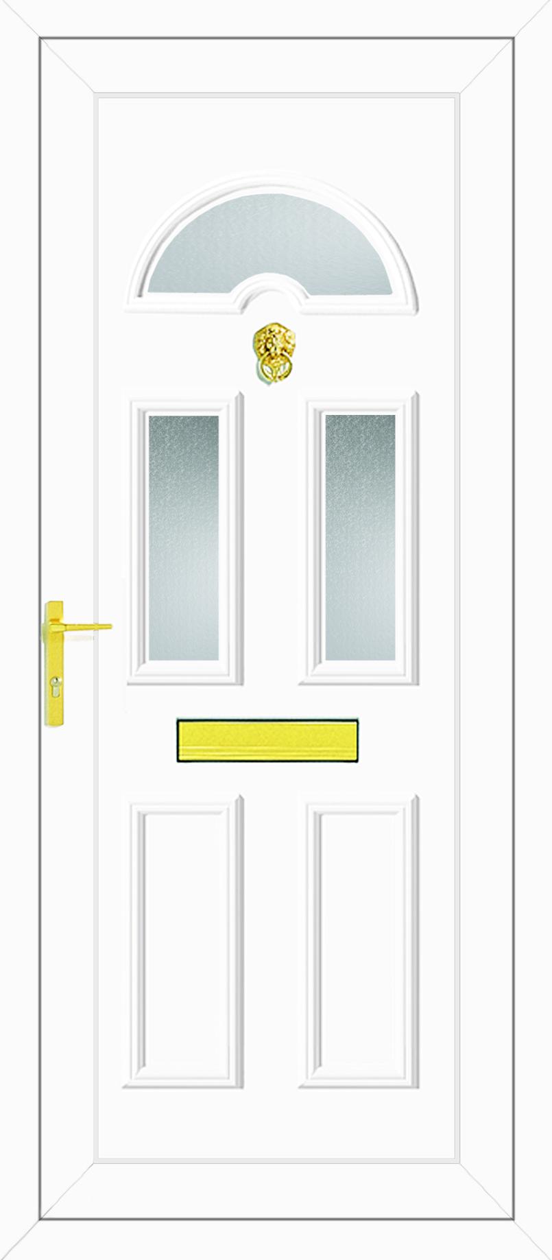 Carter Three Glazed Upvc Front Door