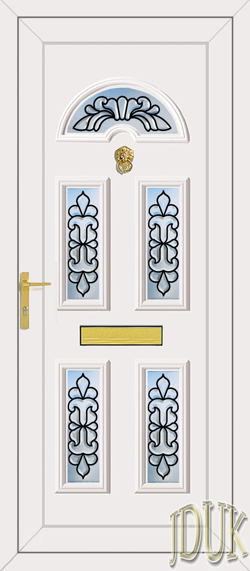 Standard specification for Coloured upvc doors