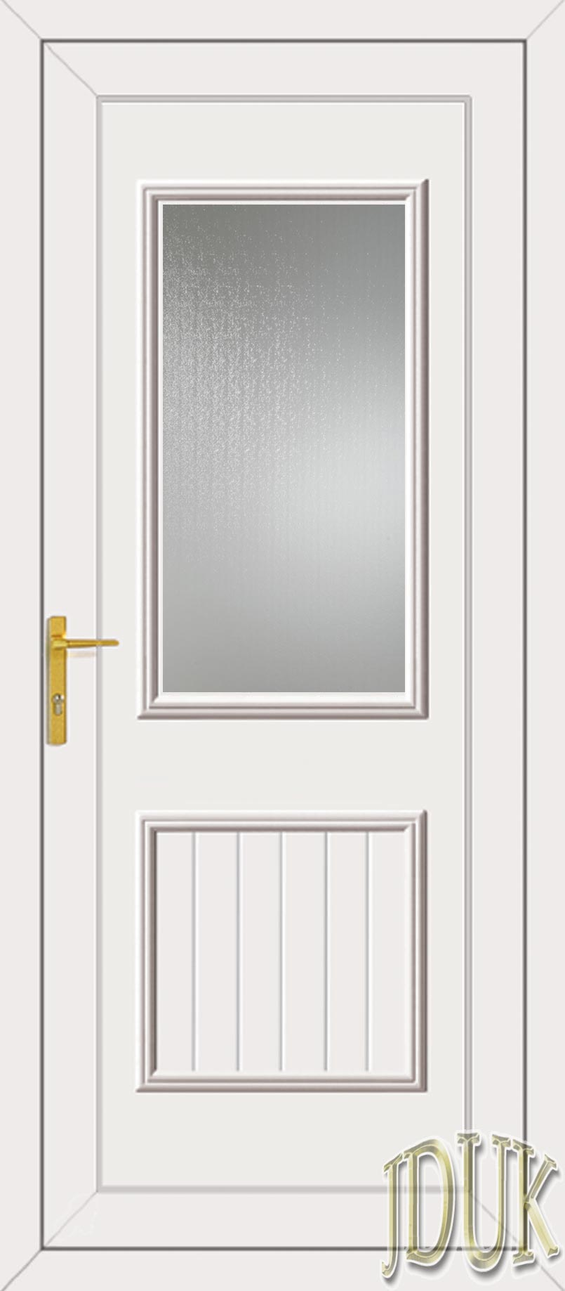Chester one glazed upvc back door for Back door styles
