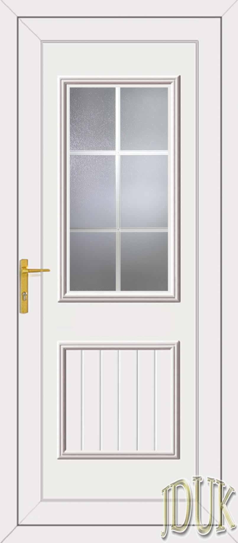 Chester one georgian bar upvc cottage door for Upvc french doors with georgian bar