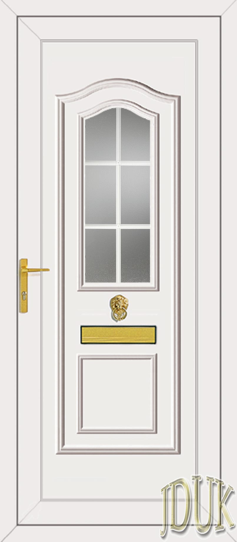 Standard specification for Upvc french doors with georgian bar