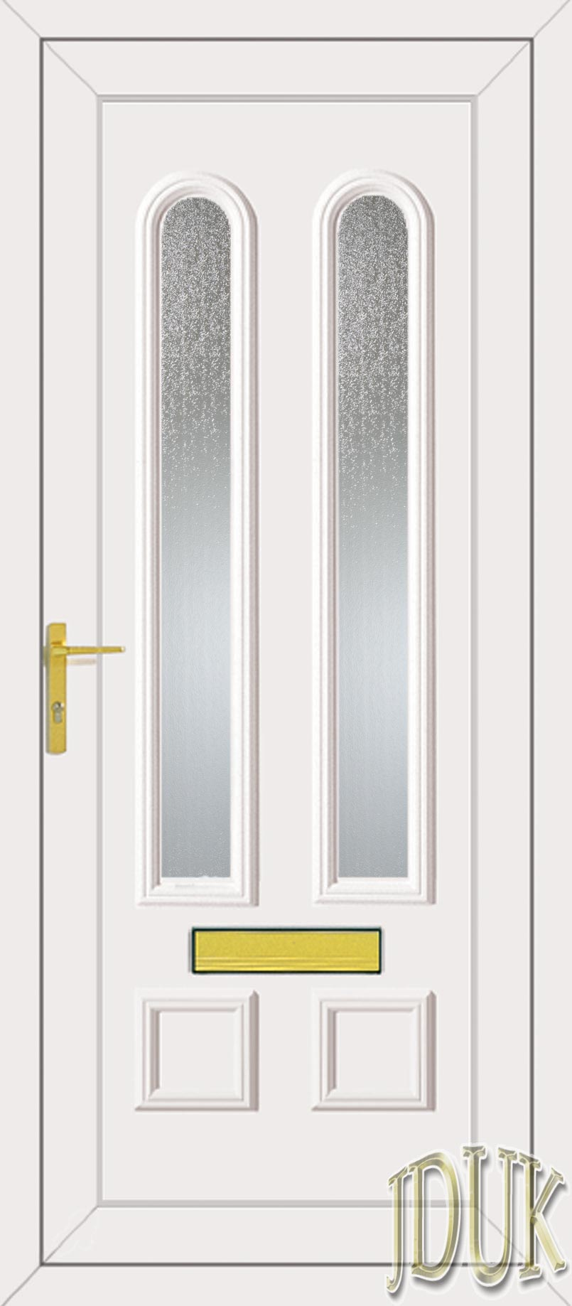 Grant two glazed upvc front door for Upvc glass front doors