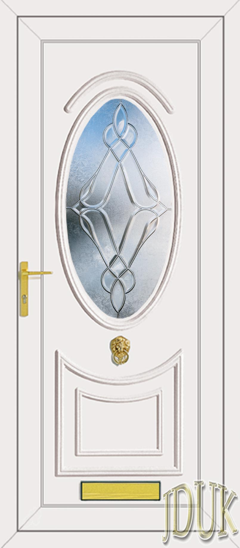 Kennedy One Elan (Clear Bevel) UPVC Front Door | 805 x 1837 · 114 kB · jpeg