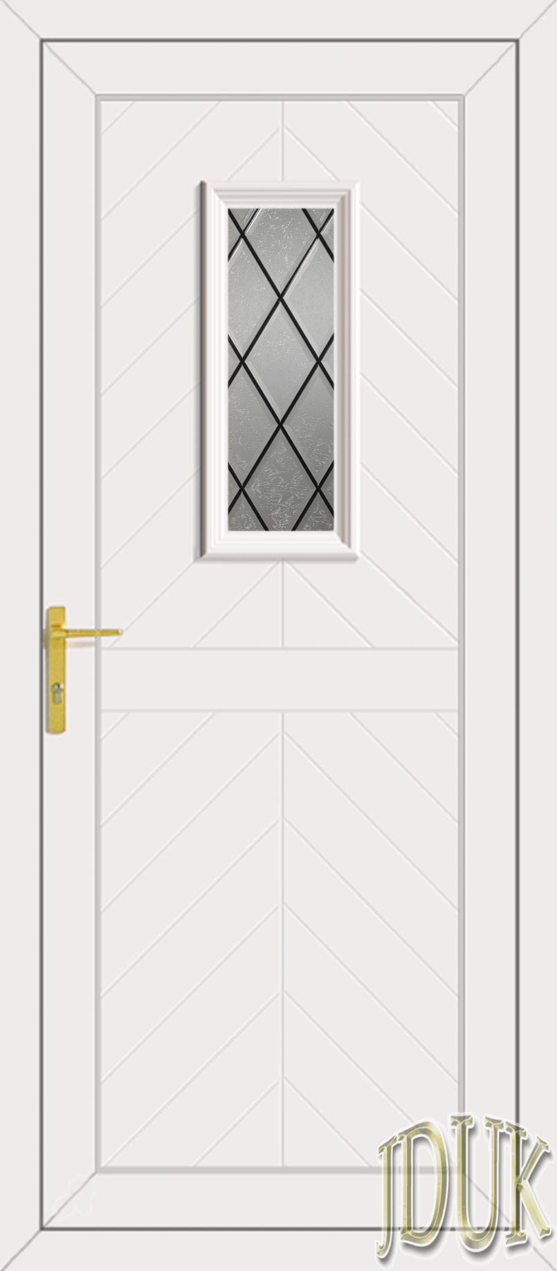 Monroe One Diamond Lead UPVC Cottage Door  sc 1 st  Just Doors UK & One Diamond Lead UPVC Cottage Door