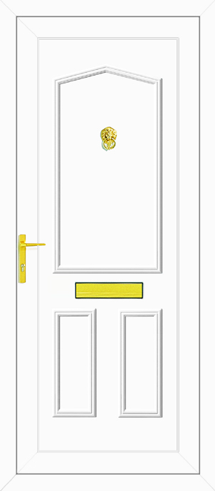 Taft Solid Upvc Back Door