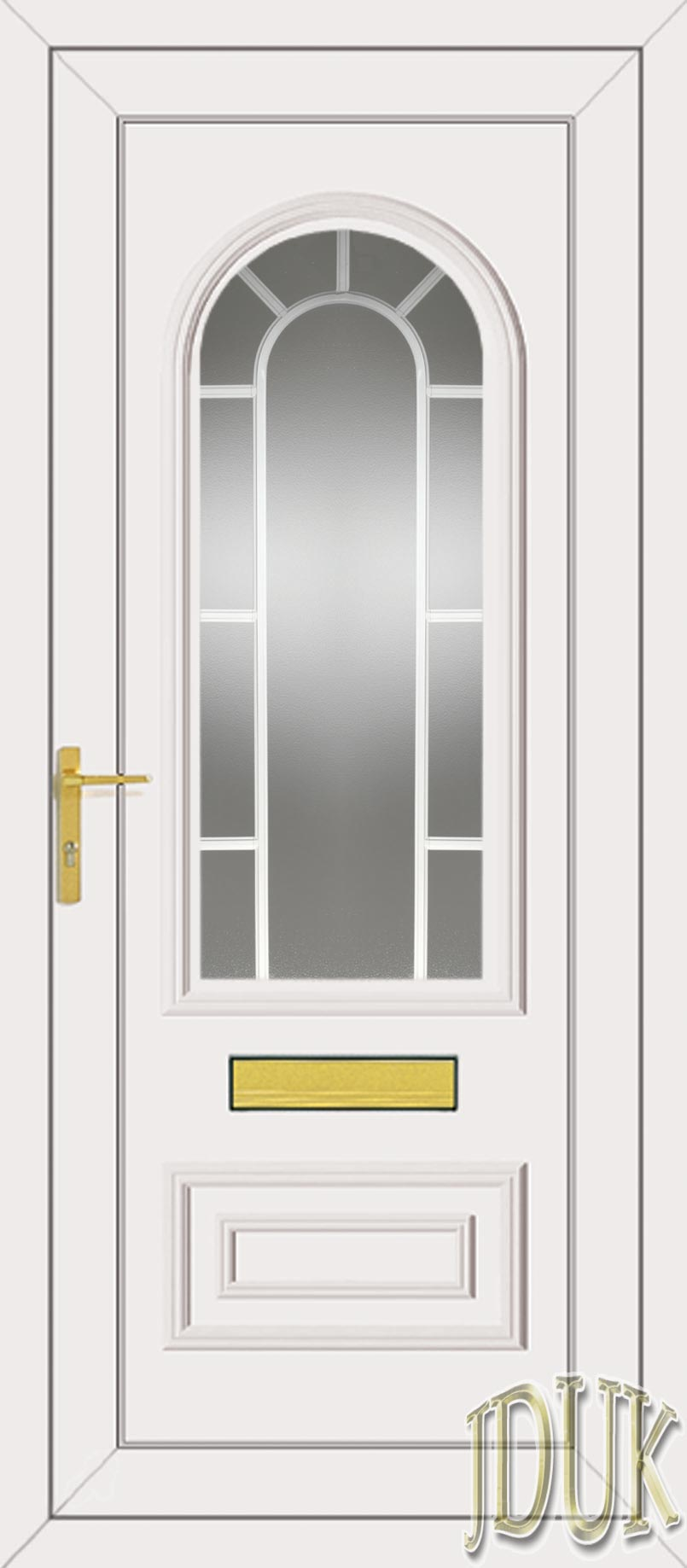 Truman one classic georgian bar upvc front door for Upvc glass front doors