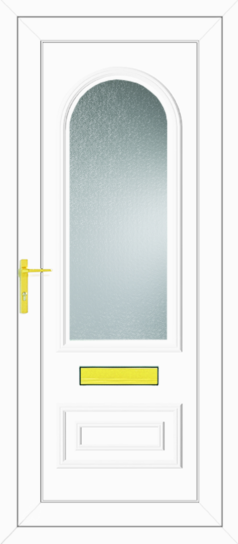 Truman One Glazed Upvc Front Door