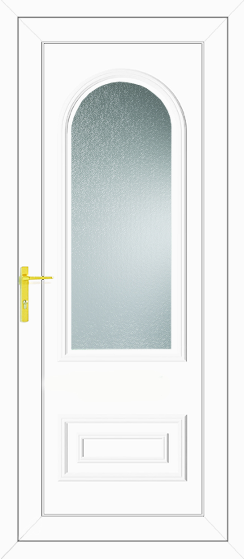 Truman One Glazed Upvc Back Door