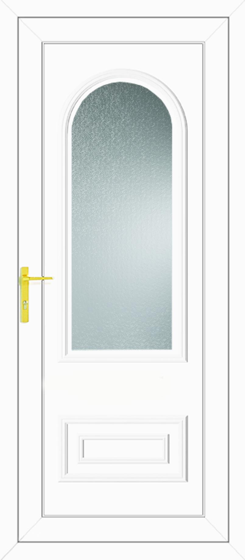 Truman One Glazed Upvc Back Door