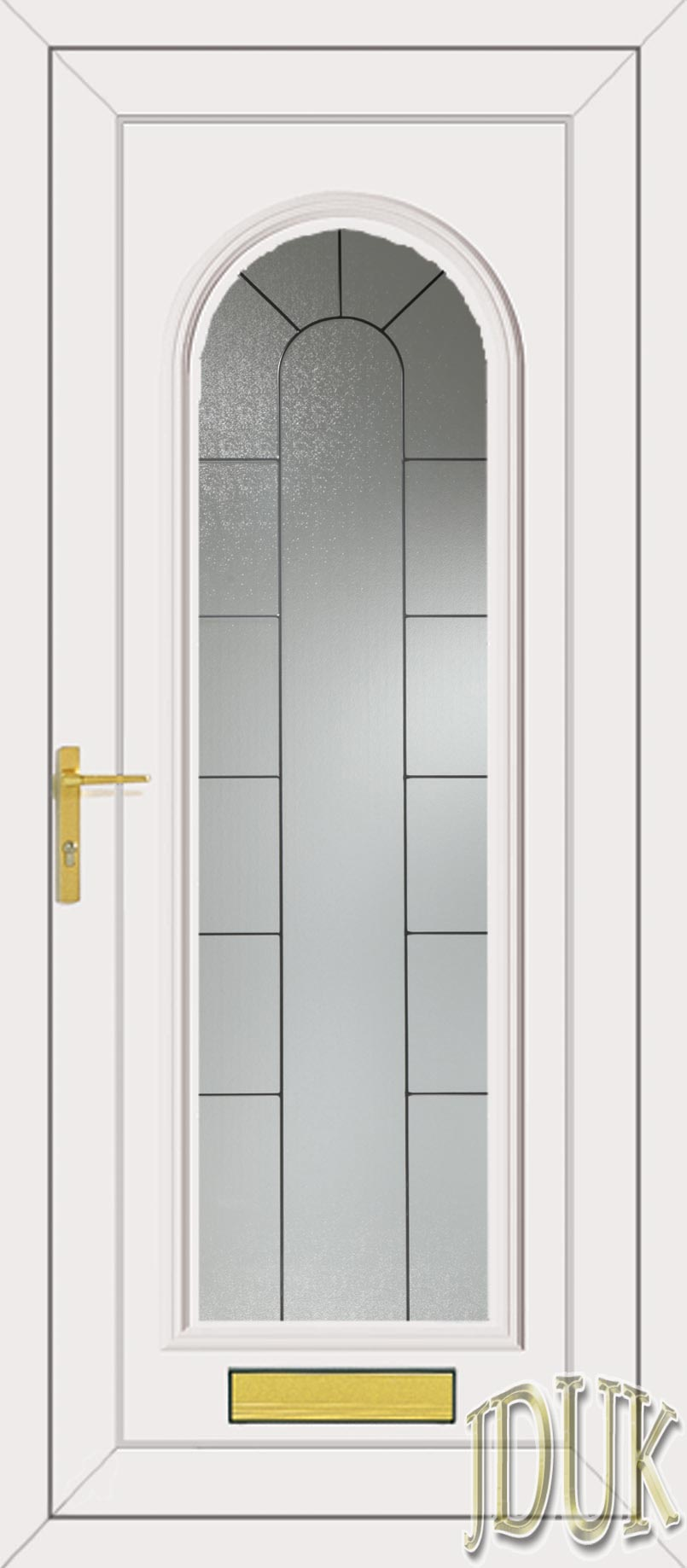 Standard specification for Upvc front doors