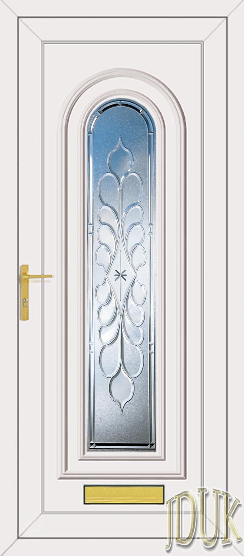 Washington one legend clear bevel upvc front door for Upvc front doors