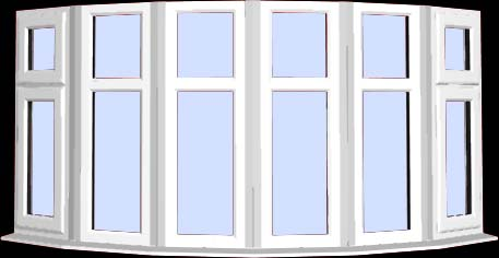 6 sided bay window