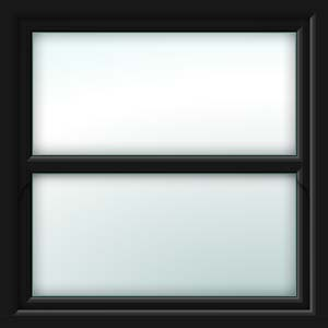black sliding sash window
