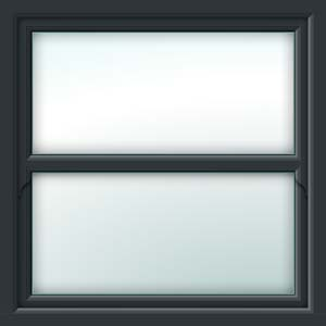 grey sliding sash window