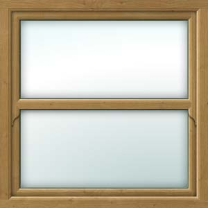irish oak sliding sash window