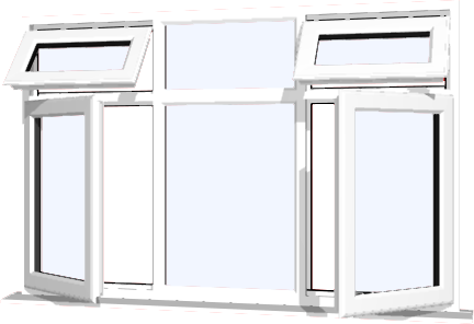 Style 31  sc 1 st  Just Doors UK & DIY UPVC Windows Supply Only Windows pezcame.com