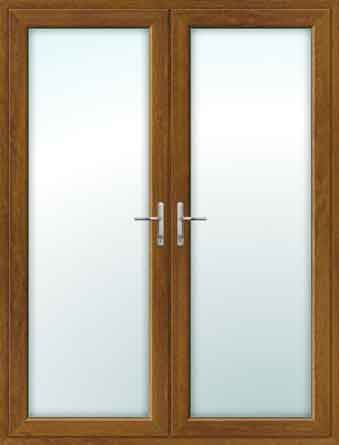 Oak UPVC French Doors