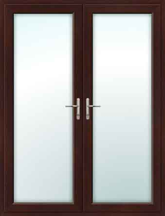 Rosewood french doors for Upvc french doors grey