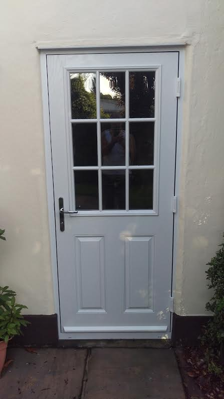 Composite back doors for Front and back doors