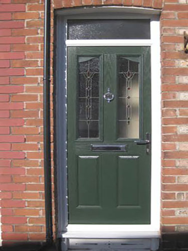 2 Panel 2 Angle Finesse in Grey Composite Door