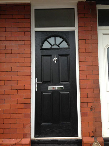 composite door top light