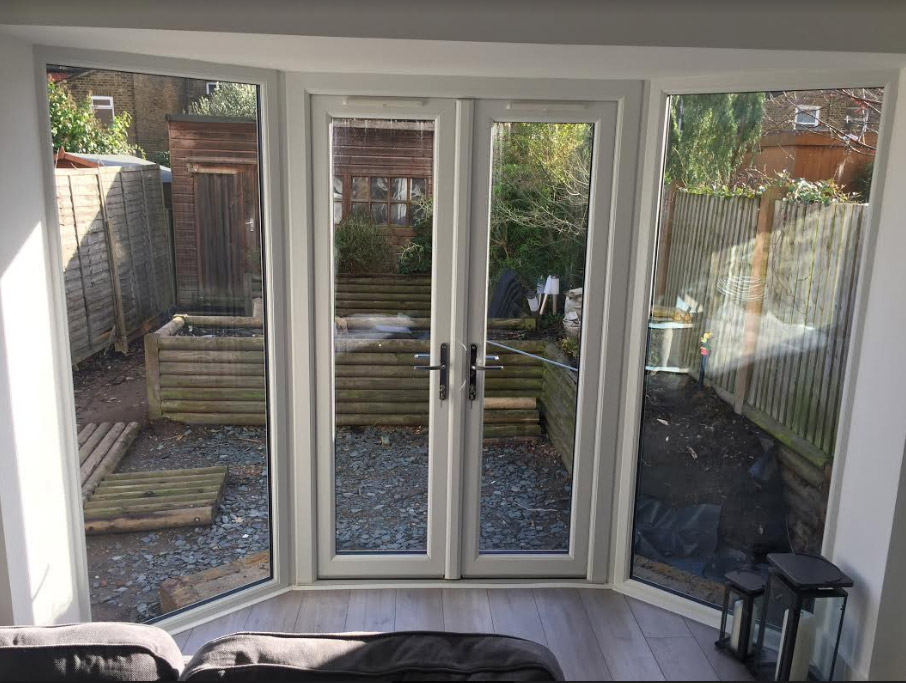 French Doors in Bay