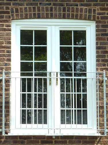 White french doors with mid rails for White french doors