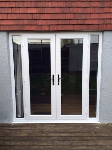 French Doors With Opening Windows That