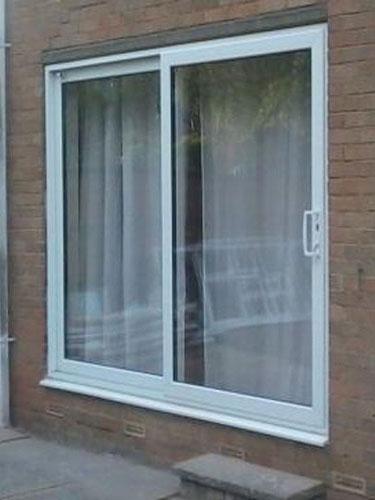White Patio Doors 3 Pane Upvc Sliding