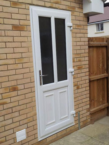 Upvc back door gallery for White back door